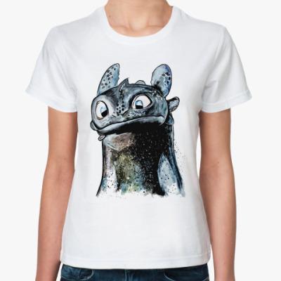 Классическая футболка Зубастик