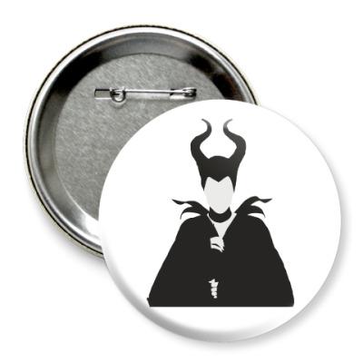 Значок 75мм Maleficent