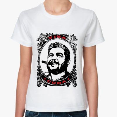 Классическая футболка Viva Cuba