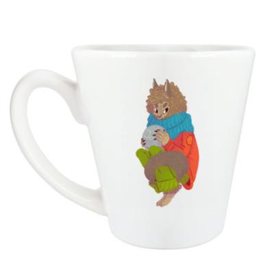Чашка Латте Оборотень
