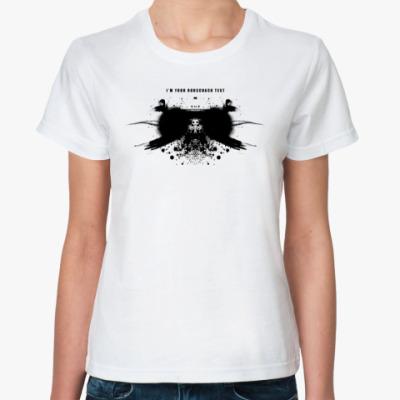 Классическая футболка RORSCHACH TEST 01