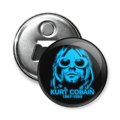 Магнит-открывашка Kurt Cobain