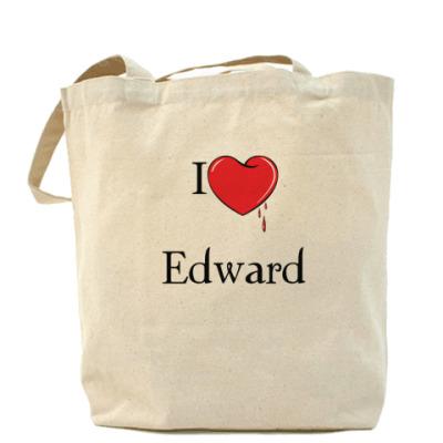 Сумка I love Edward