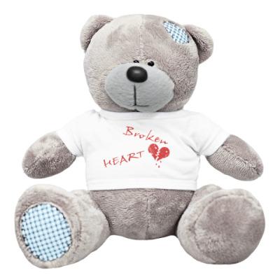 Плюшевый мишка Тедди Broken Heart