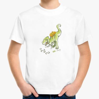 Детская футболка T-rex