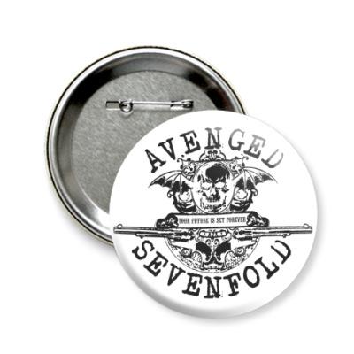 Значок 58мм  Avenged Sevenfold