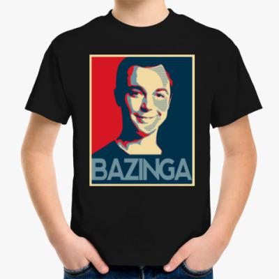 Детская футболка Bazinga
