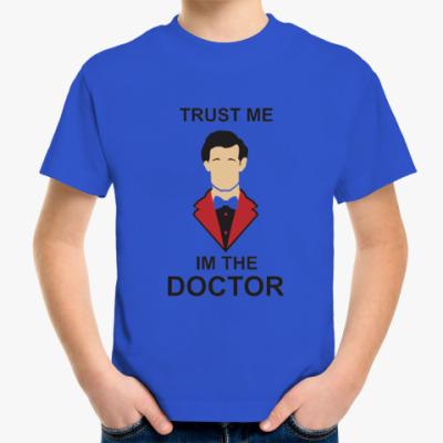 Детская футболка im the doctor