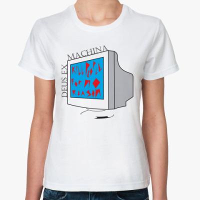 Классическая футболка  DEUS EX MACHINA