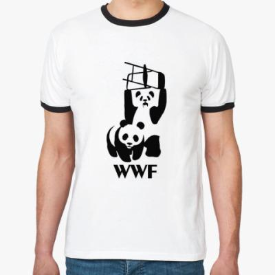Футболка Ringer-T Ringer WWF