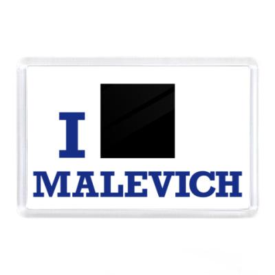Магнит  Malevich син.
