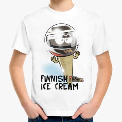 Детская футболка Finnish Ice Cream