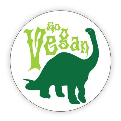 Костер (подставка под кружку) Go Vegan