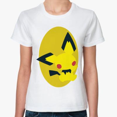 Классическая футболка Пикачу