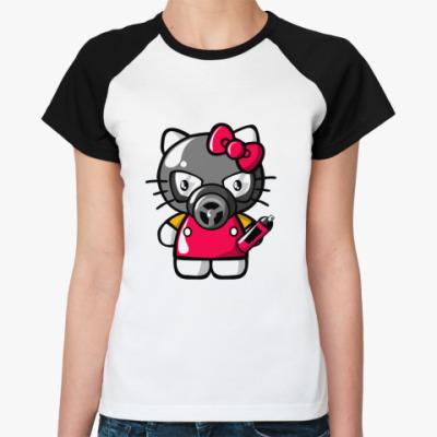 Женская футболка реглан Hello Graffity  Жен