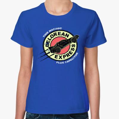 Женская футболка Делориан Экспресс