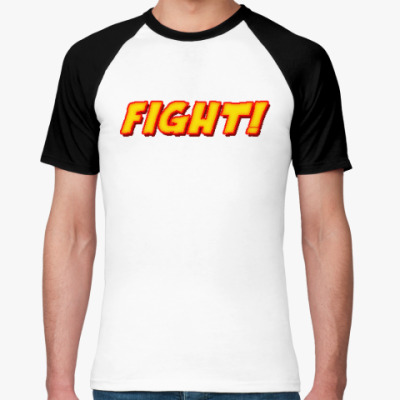 Футболка реглан 'FIGHT' 16bit