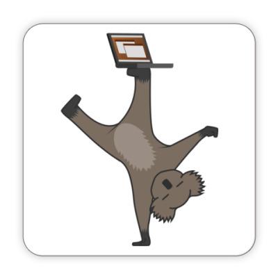 Костер (подставка под кружку)  Karmic Koala
