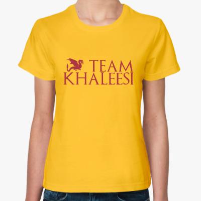 Женская футболка Команда Кхалиси
