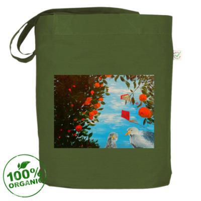 Сумка Сумка EarthPositive®, темно-зеленая