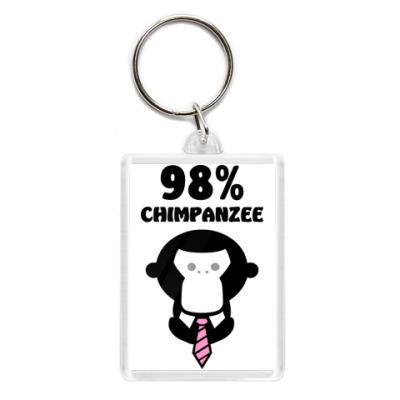 98% шимпанзе
