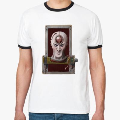 Футболка Ringer-T Злая голова