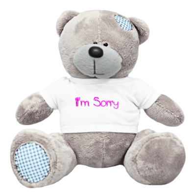 Плюшевый мишка Тедди Прости
