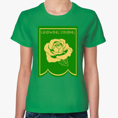 Женская футболка Дом Тиреллов