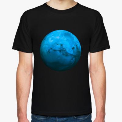Футболка  Синяя Планета