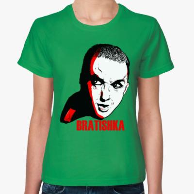 Женская футболка Братишка