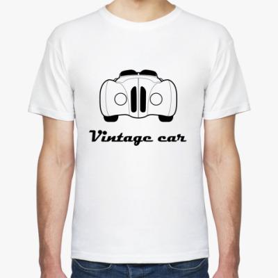 Футболка Vintage car