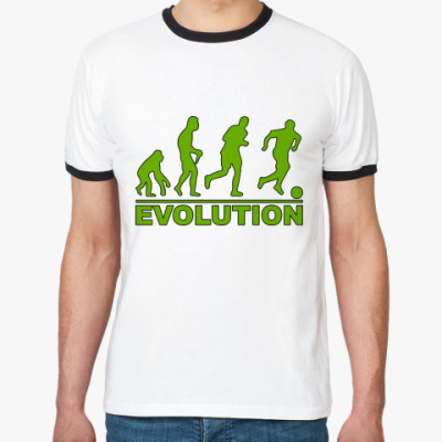 Футболка Ringer-T Evolution