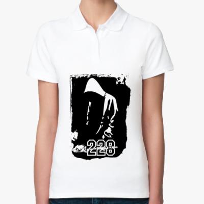 Женская рубашка поло Рэпер 228