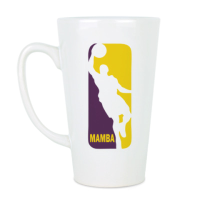 Чашка Латте Black Mamba