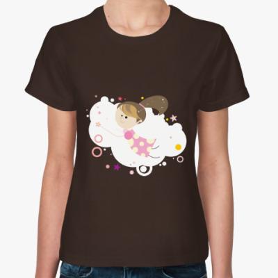 Женская футболка Волшебница