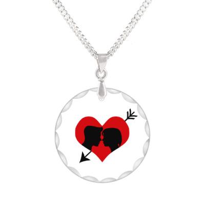 Кулон Сердце хочет любви