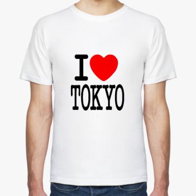 Футболка I love Tokio