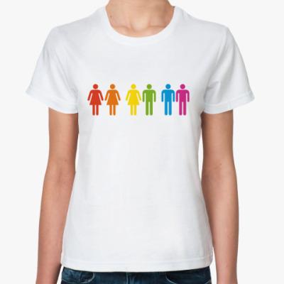 Классическая футболка Равенство