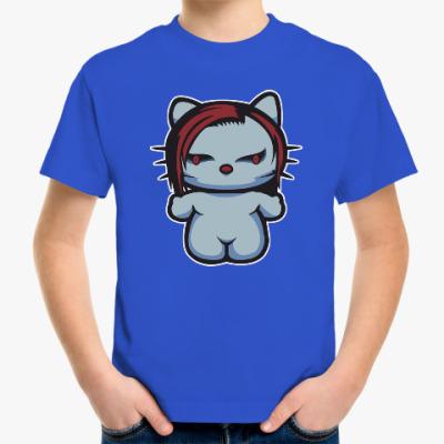 Детская футболка Китти Мэрилин Мэнсон