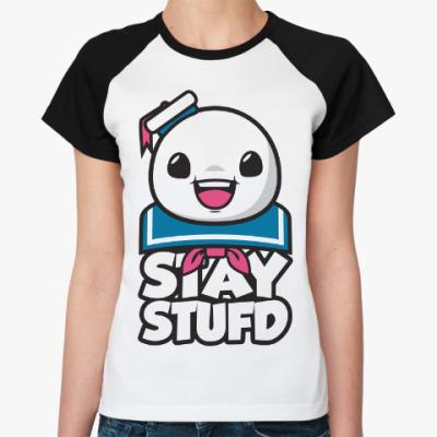 Женская футболка реглан Stay Stufd