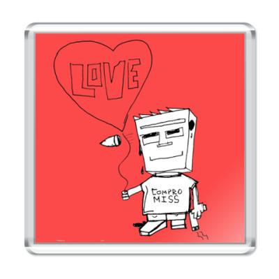 Магнит Compormiss&Love