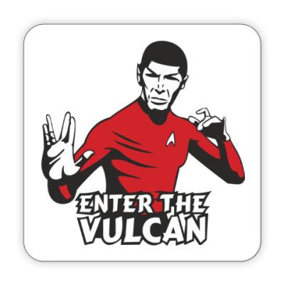 Костер (подставка под кружку) Enter the vulсan