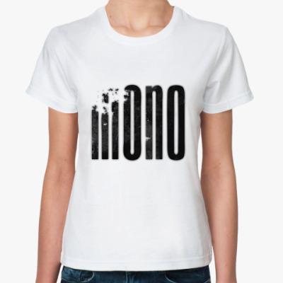 Классическая футболка Mono