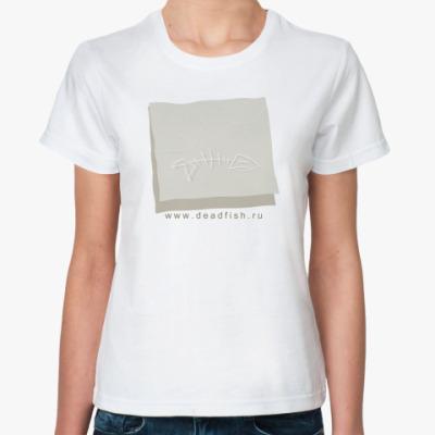 Классическая футболка  футболка Deadfish