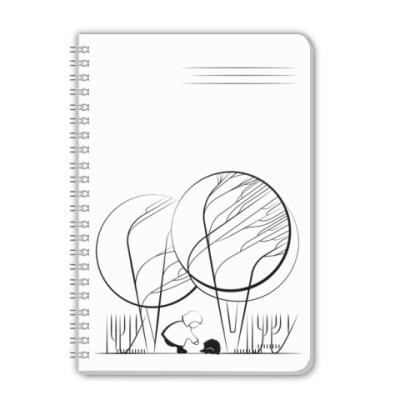 Тетрадь BubbleForest / Ёжик