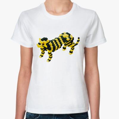 Классическая футболка 'Лего-Тигр'