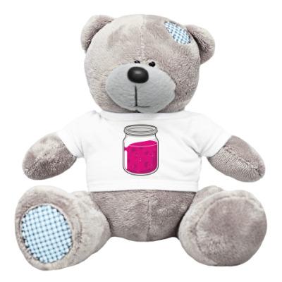 Плюшевый мишка Тедди варенье