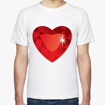 Футболка Сердце-Бриллиант