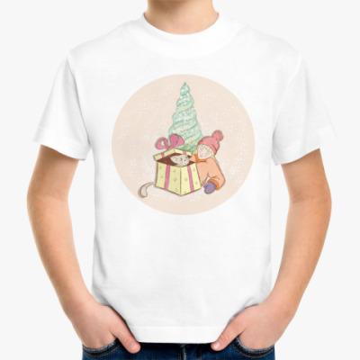 Детская футболка Неожиданный подарок