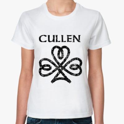 Классическая футболка Cullen sign